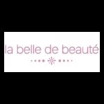 La belle de beauté logo